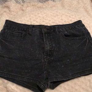 Soft black shorts